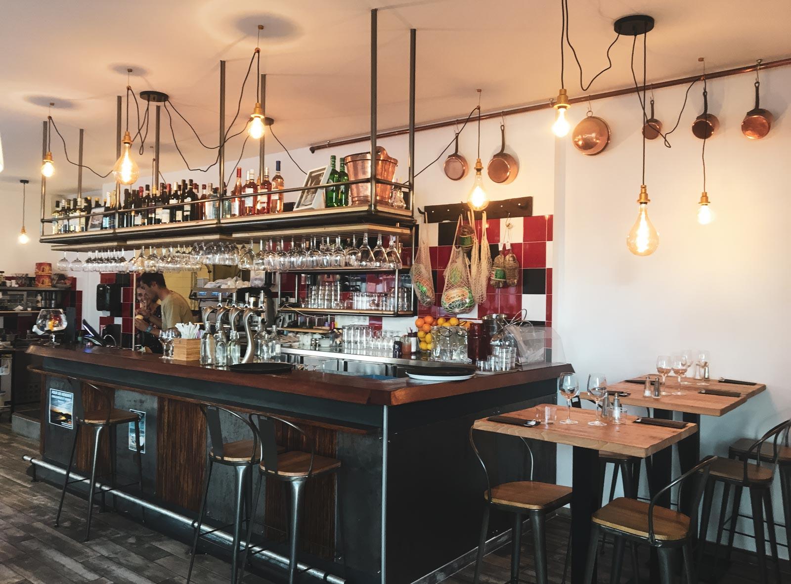 Le restaurant italien la trattoria della Nonna Hendaye