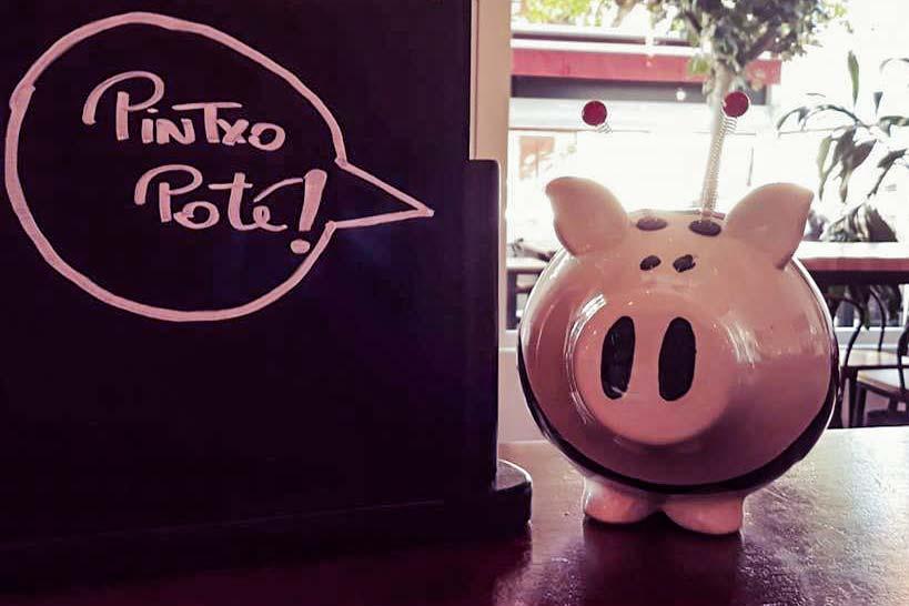 Restaurant italien Hendaye La Nonna apéro Pinxo