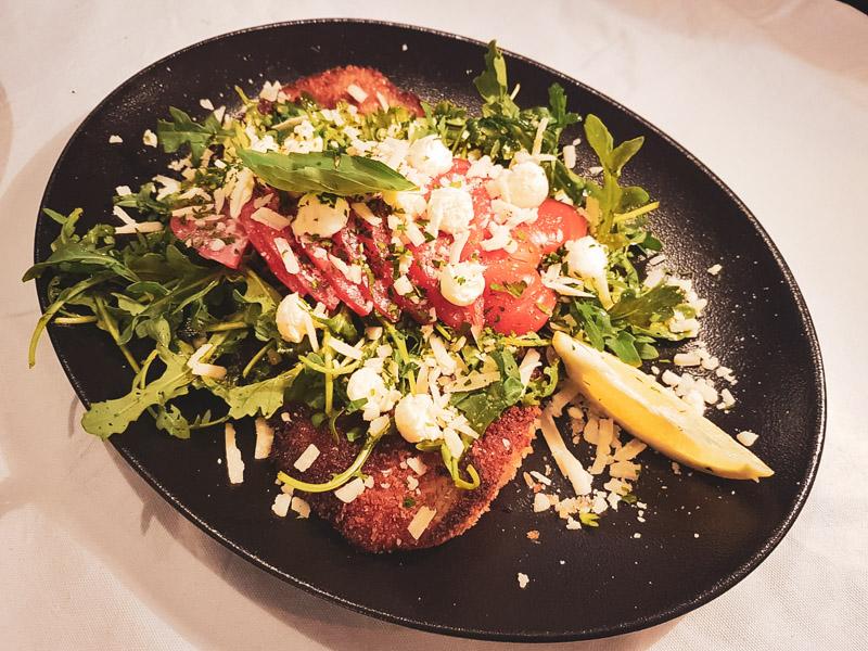 Restaurant Hendaye - La Nonna - Escalope de veau milanaise