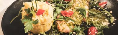 Restaurant Hendaye - La Nonna - Porchetta salade