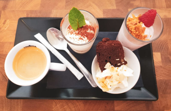 Restaurant Hendaye - La Nonna - Dessert Café gourmand