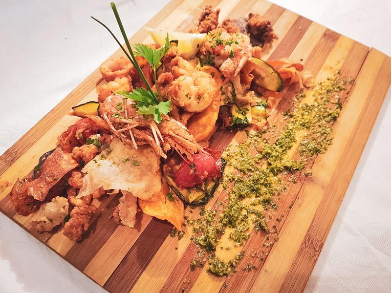 Restaurant Hendaye - La Nonna - Frito misto