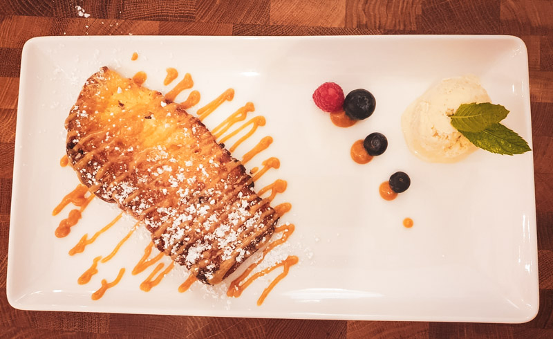 Restaurant Hendaye - La Nonna - Dessert Pannetone