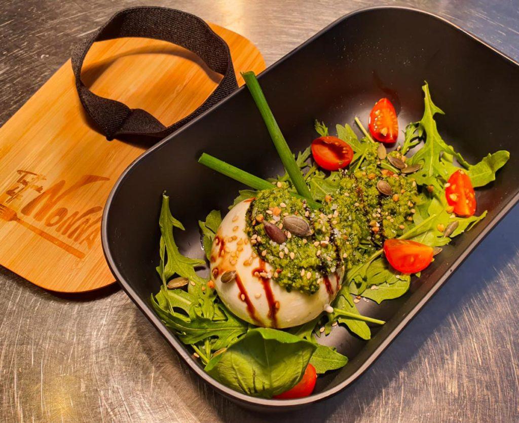 LaNonna-Burrata al pesto-restaurant Hendaye - Plat à emporter