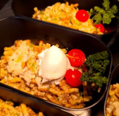 Macaronis crème de truffe et burrata -La-Nonna-Restaurant-Hendaye